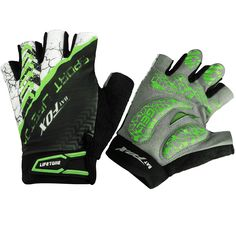 Half Finger Cycling Gloves,Basecamp Breathable Fingerless Gel Pad Bike Gloves Mountain Gloves for Cycling Skiing Hiking Climbing Cycling Mitts Riding Bicycle Gloves. 【Breathable and Refreshing】Composite fabrics. Palm use thicker wear-resistant leather with comfortable mesh hole, better moisture-wicking, hand back all use breathable fabric, breathability performance has been further enhanced. 【Resistant Material and Protection for Palm】Super fine leather palm fiber,wear-resistant.Palm…