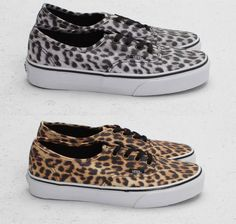 Vans Authentic Leopard Pack (Lato 2012)Lovin the cheetah thing lately :)
