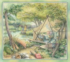 Camping by Kim Jacobs