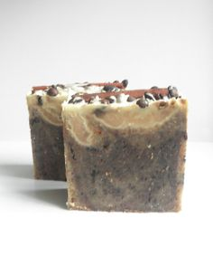 New 250gr Coffee Cinnamon Soap // Antioxidant by NaturalBeautyLine, €5.90