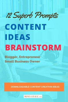 Content Creation for your Business Blog or Website Promotion