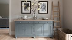 Top Best Dining Room Furniture – Best Dining Tables Love the colour of this sideboard – looks similar to Farrow & Ball 'Pigeon' Beautiful Furniture, Decor, Living Room Furniture Collections, Kitchen Sideboard, Home, Interior, Dining Room Furniture, Home Decor, Living Room Furniture