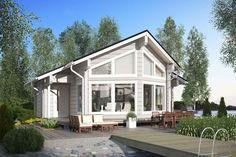 Aada 74-76 log cabin holiday home