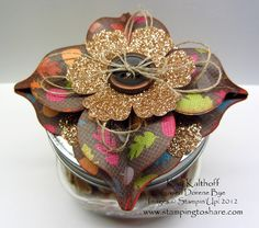 Holiday Ornament Jar Topper