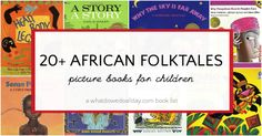A list of over 20 picture books featuring retelling of African folktales for kids. Kindergarten Books, Kindergarten Lesson Plans, Legends For Kids, African Mythology, Curriculum Planning, History For Kids, Pre Writing, Children's Picture Books, Livres