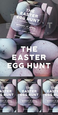 """Buy Modern Easter Egg Hunt Flyer by dannyaldana on GraphicRiver. Easter Egg Hunt Flyer This """"Easter Egg Hunt Flyer"""" is perfect for the promotion of Easter Egg Hunt Events, Easter Egg. Harry Potter Easter Eggs, Easter Egg Pictures, Plastic Easter Eggs, Ukrainian Easter Eggs, Holiday Invitations, Egg Hunt, Holidays And Events, Flyer Template, Print Templates"""