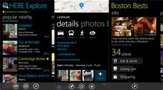 HERE Maps and HERE Explore Beta update Lumia WP8 smartphones   Nokia has just minor bug fixes and an update to the navigation applications, which are HERE Maps and HERE Explore Beta Lumia WP8 smartphones.