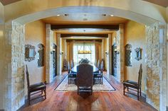 Tuscan style Formal Dining...
