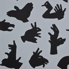 shadow puppets. Print out and put in 72 hour kits