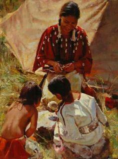 Oil Painting ~ Edward Kucera