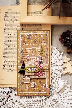 Special Day Cards: Задание № 138 Открытка на новый год с пряниками/пряничными…