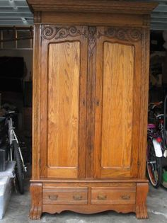Victorian Armoire Curio Cabinets on Pinterest