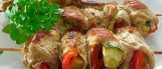 Szaszłyki - zawijańce - Blog z apetytem Polish Recipes, Polish Food, Sushi, Grilling, Food And Drink, Turkey, Blog, Meat, Chicken