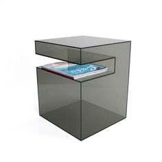 Vertical or horizontal? You choose! The SLOT TABLE designed by Eric Pfeiffer available at www.amac1960.com