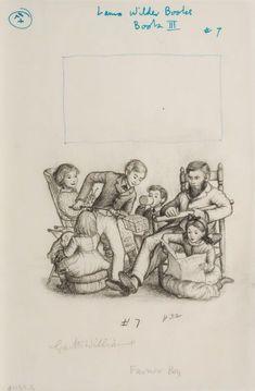Little House  Garth Williams Illustrations | Garth Williams Little House Illustrations | 78446: GARTH WILLIAMS ...