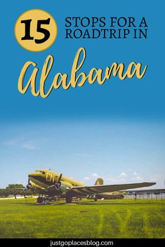 Ready to road trip Alabama? Alabama is a fantastically diverse state with mountain, beaches, cities and a fascinating history. Did I mention the great food and friendly people? You should consider these 15 amazing stops for your road trip in Alabama. #alabama #roadtrip #southernusa