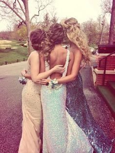 #prom #dresses #friends