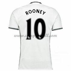 Manchester United Fotballdrakter 2016-17 Rooney 10 Tredjedrakt