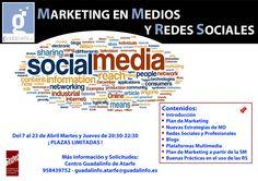 Curso de Marketing Digital en la Social Media en Guadalinfo Atarfe