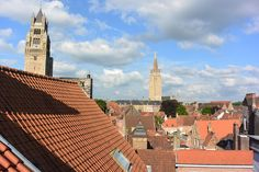 My favorite moment in Bruges was when two of my hostel mates and I snuck onto the roof of our hostel. We chilled up there with some Belgian beer and took in the sites. Stuff To Do, Things To Do, Belgian Beer, Bruges, Hostel, Great Photos, Chill, In This Moment, My Favorite Things
