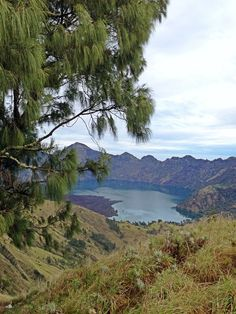 Danau Segara Anak - Taman Nasional Gunung Rinjani - Lombok #plawangansembalun #danausegaraanak #lombok #indonesia #lake #rinjani #scenery #wonderfulindonesia ❤️