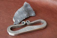 Steel flint striker handforged fire steel No.8 by MakeYourFire, $32.00