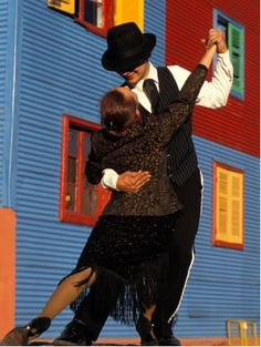 tango in the streets....