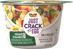 Just Crack an Egg Veggie Scramble Kit Breakfast Bowls