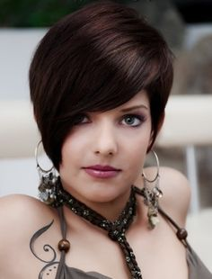 Long Pixie For Brunette Cuts   Short Hairstyles Are In Fashion Many Girls & Women 2012