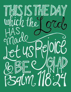 Day 5: Free Scripture Art Print - I Heart Planners