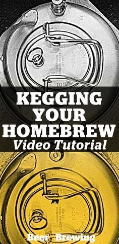 Video: Kegging Your Homebrew How to Keg Your Beer: Avoid Mistakes with These Video Tips!How to Keg Your Beer: Avoid Mistakes with These Video Tips! Beer Brewing Kits, Brewing Recipes, Homebrew Recipes, Beer Recipes, Alcohol Recipes, Coffee Recipes, Make Beer At Home, Make Your Own Beer, Souvenir