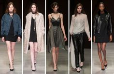 Marios Schwab's Fall Collection Is for Cool Girls Who Don't Give a Damn
