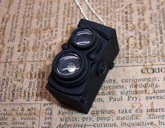 retro Camera necklace