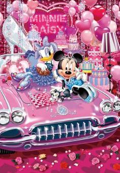 D-1000-395 Tenyo Disney Japan Jigsaw Puzzles Minnie Mouse and Daisy