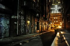 Want to discover art related to alleyway? Check out inspiring examples of alleyway artwork on DeviantArt, and get inspired by our community of talented artists. Blue Dahlia, City Aesthetic, Dark City, Night Background, Background Ideas, Alleyway, Batman, Night City, Imagines