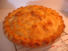 Cook's Illustrated Classic Apple Pie (note that this recipe doesn't include the vodka pie crust that they like to use now)