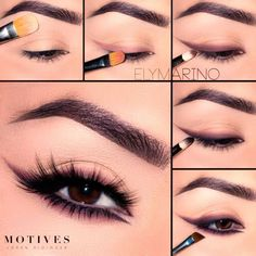 Smudge Eyeliner Makeup Tutorial Brown eyes are so beautiful. Explore how to enh Smudge Eyeliner Makeup Tutorial Brown eyes are so beautiful. Explore how to enhance your dark eyes with pretty makeup. What eyeshadow to choose? Eyeliner Make-up, Makeup Tutorial Eyeliner, Eye Makeup Tips, Makeup Eyeshadow, Makeup Brushes, Eyeshadow Brushes, Glitter Eyeshadow, Eyeshadow Palette, Makeup Tutorials