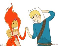 Sometimes the fact that they can't touch strikes me as very romantic Some Finn/Flame Princess was requested by so here we are! Finn and Flame Princess are Cuties Flame Princess And Finn, Adventure Time Flame Princess, Adventure Time Finn, Time Cartoon, Couple Cartoon, Cartoon Art, Adventure Time Drawings, Pendleton Ward, American Cartoons