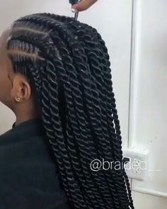 Browse through our collection of trending braided hairstyles in 2020 featuring this braided updo and Senegalese twists hairstyle including price, duration and type of hair used below. # cornrows Braids videos Cornrows into Senegalese twists Senegalese Twist Hairstyles, Twist Braid Hairstyles, Braided Hairstyles For Black Women, African Braids Hairstyles, Protective Hairstyles, Wig Hairstyles, Senegalese Twists, Protective Styles, Hairstyles Pictures