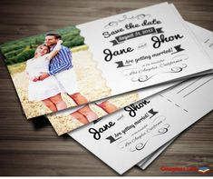 Elegant Wedding Invitation Postcard Template Invite your friends and family with this elegant wedding invitation card! Make your own invitation card. Very easy Postcard Wedding Invitation, Printable Wedding Invitations, Elegant Wedding Invitations, Wedding Favors, Make Your Own Invitations, Postcard Template, Save The Date Magnets, Wedding Templates, Invite Your Friends