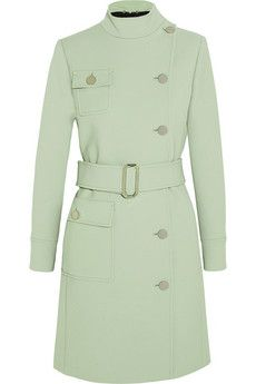 Gucci Belted wool coat | NET-A-PORTER  #mint  which is hot for fall