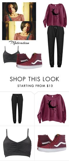 """""""Bonnie Bennett Sport Outfit - tvd / the vampire diaries"""" by shadyannon ❤ liked on Polyvore featuring Forever 21 and Vans"""