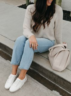 Nordstrom Anniversary Sale 2021 - BEST items under $50!! - Mint Arrow #mintarrow #style #outfit #momjeans #straightlegjeans #hat #ootd #falloutfit #sneakers #nordstromoutfit #nordstrom #nordstromanniversarysale Kids Fashion, Autumn Fashion, Womens Fashion, Nordstrom Anniversary Sale, Fall Jackets, Cute Sweaters, Ribbed Sweater, Girly Girl, Arrow