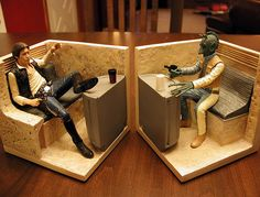 Han and Greedo Bookends