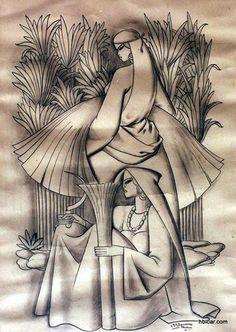 الفنان المصري..حسين بيكار 1913-2002.....................1