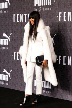 Naomi Campbell at Fenty Puma by Rihanna