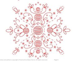 #ClippedOnIssuu from Parterre du Feu Embroidery Pattern