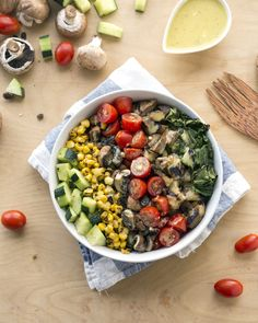 Vegan Bowl Attack! Grilled Romaine Salad
