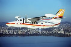 Let-410 da NHT Linhas Aéreas