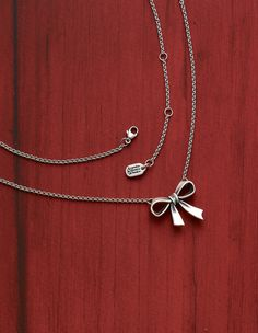 Bow Necklace from James Avery Jewelry #jamesavery